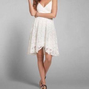 Abercrombie White Lace Dress